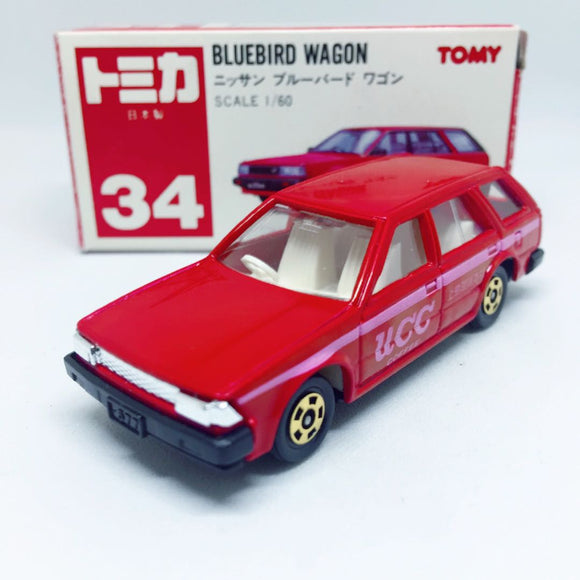 Takara Tomy Tomica | No. 34 Bluebird Wagon | Made in Japan