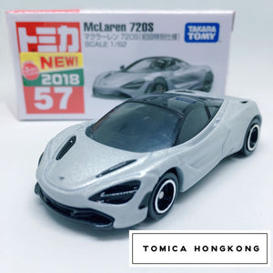 Takara Tomy Tomica | No.57 McLaren 720S (First Edition) | New 2018 Japanese Edition
