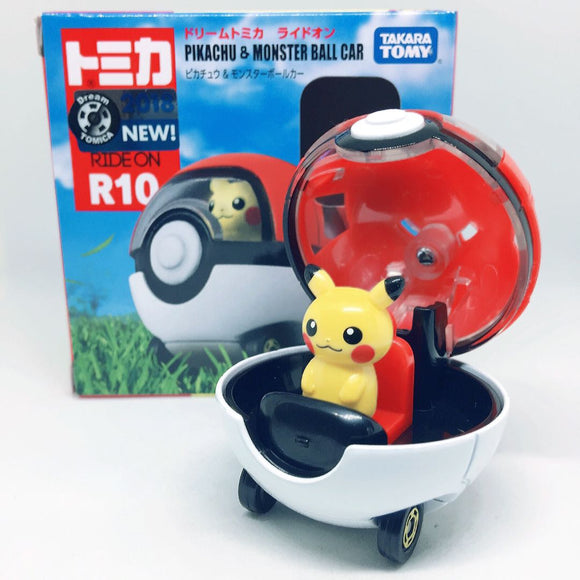 Takara Tomy Tomica | Pokemon Pikachu Monster Ball Car | Box Set