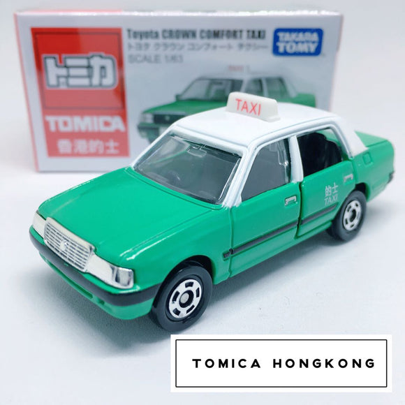 Takara Tomy Tomica | Toyota Crown Comfort Taxi (Green) | Hong Kong Edition