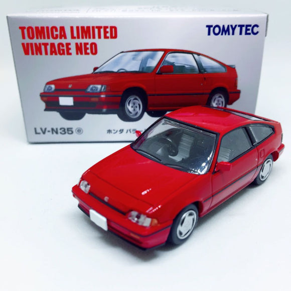Takara Tomy Tomica | Honda Ballade Sports CR-X Si (LV-N35) | Tomica Limited Vintage Neo TOMYTEC