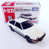 Takara Tomy Tomica Initial D AE86 Trueno (White) (Initial D Edition) (Diecast Cars) - Tomica Hong Kong
