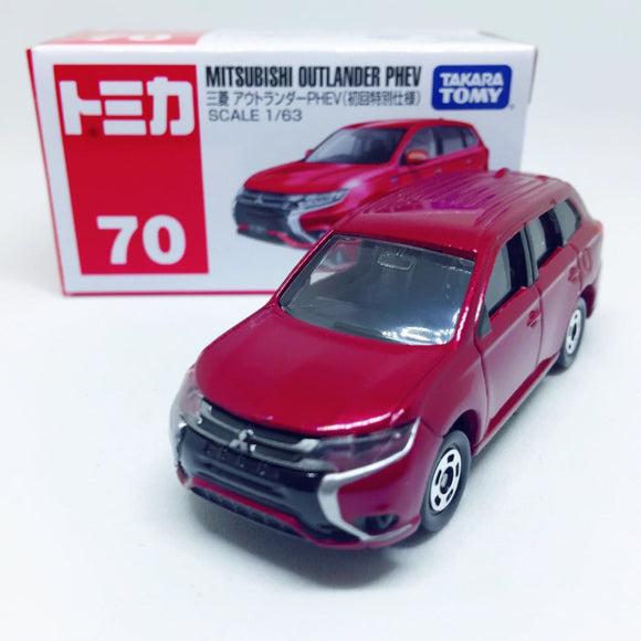 Tomica Takara Tomy Toysトミカ | No. 70 Mitsubishi Outlander Phev (First Edition)