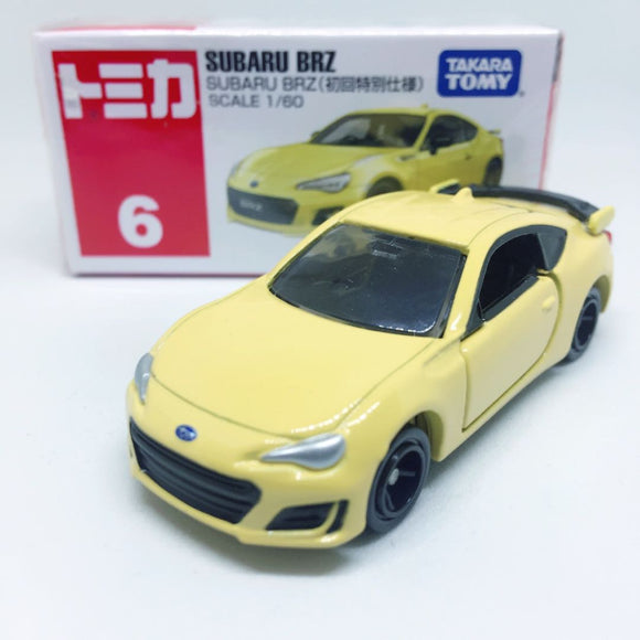 Tomica Takara Tomy Toysトミカ | No. 6 Subaru BRZ First Edition