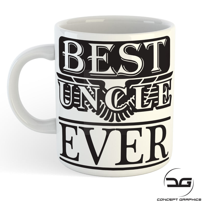 Worlds Best Uncle Funny Coffee Mug/Cup