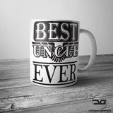 Worlds Best Uncle Funny Coffee Mug/Cup Gift For Him