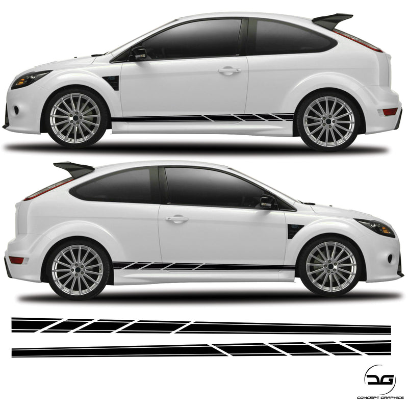 Ford Focus Arrow Side Stripes MK2 ST RS