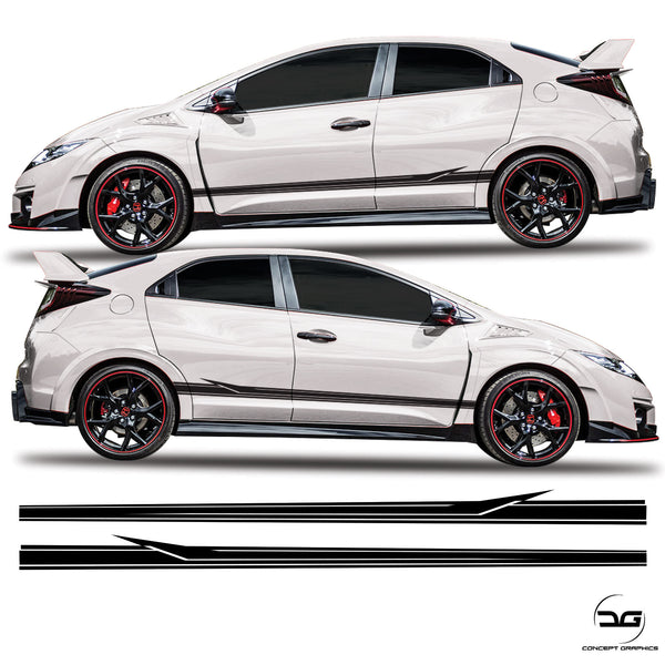 Honda Civic Type R Fk2 Arrow Side stripe Kit
