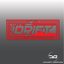 JDM Japanese Performance Kanji Drift Vinyl Decal Sticker