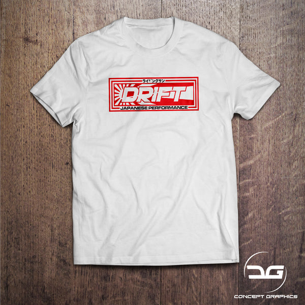 JDM Japanese Performance Drift Funny Car T-Shirt