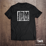 JDM Status Funny Rising Sun Smashed Glass T-Shirt