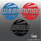 Large Japanese Themed Car Detailing Wash, Rinse & Wheels Vinyl Bucket Stickers