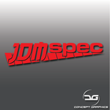 JDM Spec Rev Counter Funny Japanese Car Vinyl Decal Sticker
