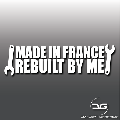 Funny French Car Vinyl Decal Sticker