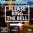 Please Ring The Bell Window Wall Vinyl Decal Sticker Sign