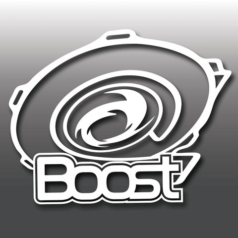 Funny Turbo Boost Car Vinyl Decal Sticker