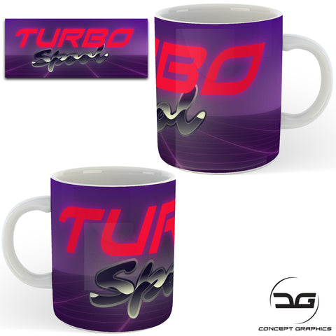 Turbo Spool Funny Novelty Coffee Mug/Cup Car Enthusiasts Gift