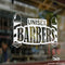 Unisex Barbers Vinyl Decal Sticker Sign