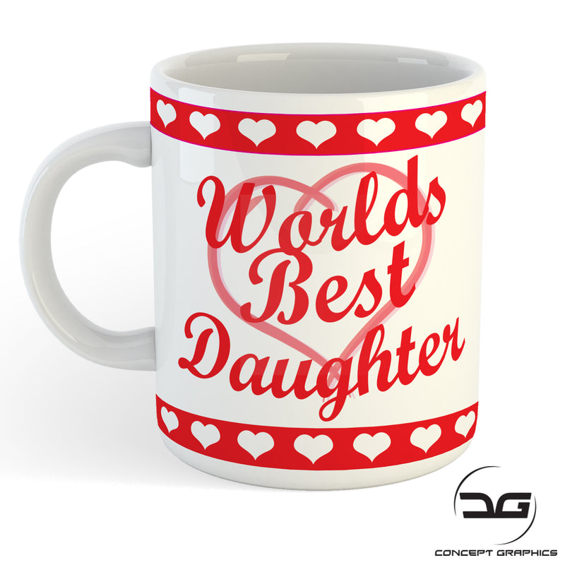 Worlds Best Daughter Christmas/Birthday Gift Mug