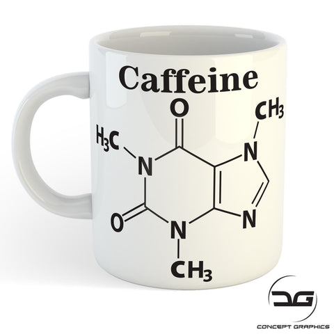 Caffeine Chemical Formula Funny Coffee Mug/Cup