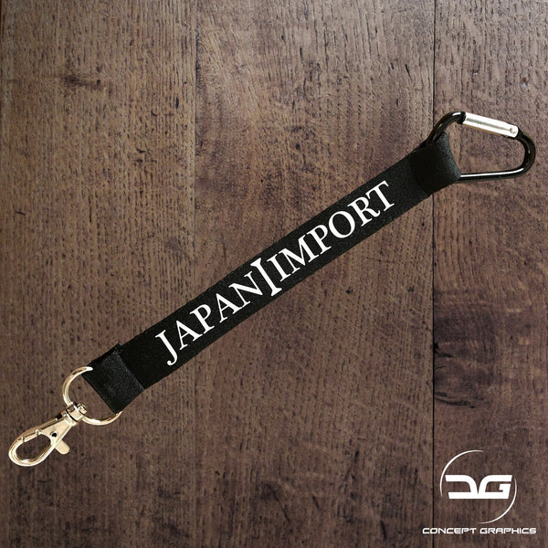 Japan Import Car Themed Mini Lanyard Keyring Keychain