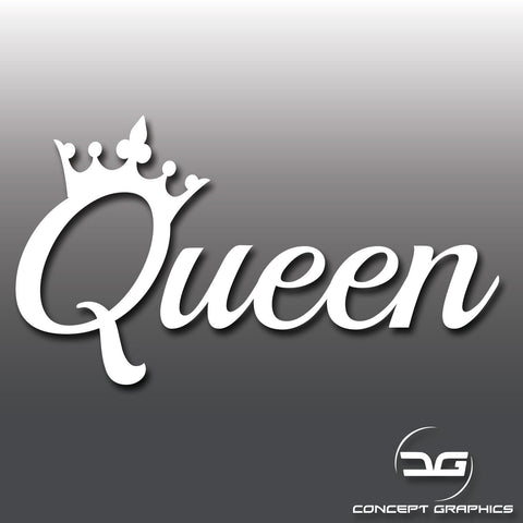 Queen Funny Novelty Vinyl Decal Sticker