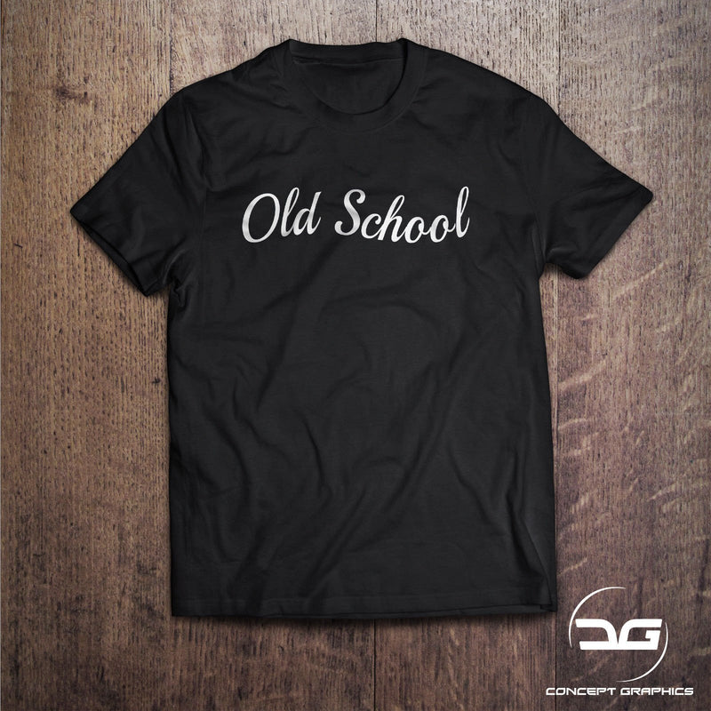 Old School Novelty Joke Classic Car T-Shirt