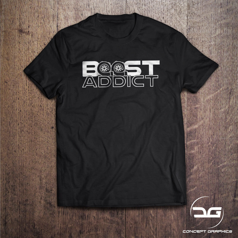 Boost Addict Turbo Novelty Japanese T-Shirt