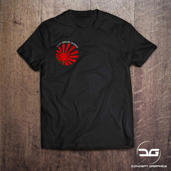 JDM Sun Origin Rising Sun Car T-Shirt