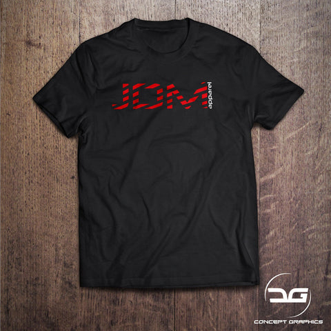 JDM Apparel Red Stripe T-Shirt