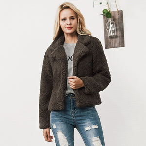 FAUX FUR OVERSIZED