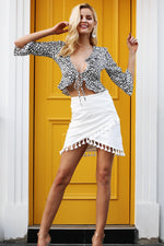 Tassel Summer Mini Skirts