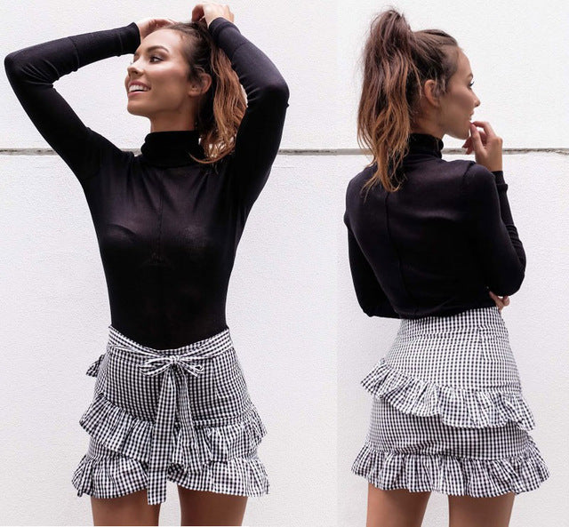 Yylona Ruffled Skirt