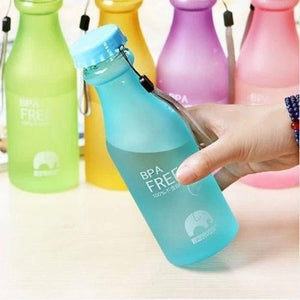 glass , unbreakable , travel, portable , water bottle , glass water bottle