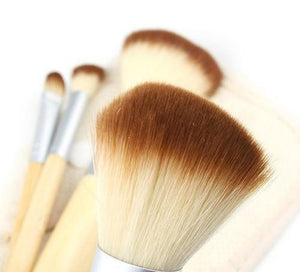 5pcs/set  BAMBOO Makeup Brush Set