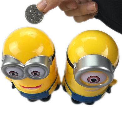 moneybox , personalized money box , piggy bank, coin bank , minions