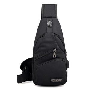 Anti-Theft Waterproof USB Charging Backpack