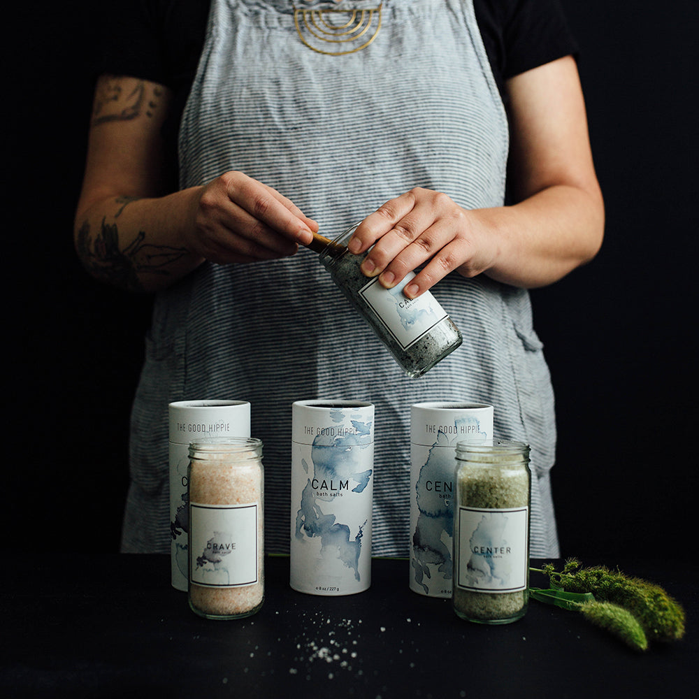 The Good Hippie - Artisan making vegan, cruelty free and natural bath salts