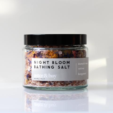 Aster & Bay Night Bloom Bathing Salt