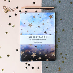 Nikki Strange Cloudy Stars notebook