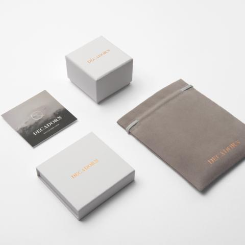 lifestyle shot of the packaging, boxes and pouches