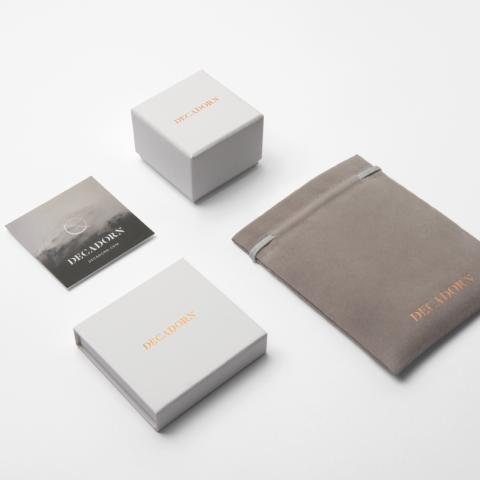Lifestyle image of the packaging,  boxes and pouches