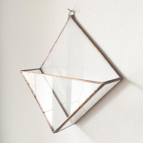 Triangle Wall Terrarium