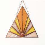 Sunrise Stained Glass Suncatcher