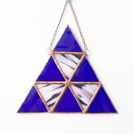Geometric Stained Glass Suncatcher
