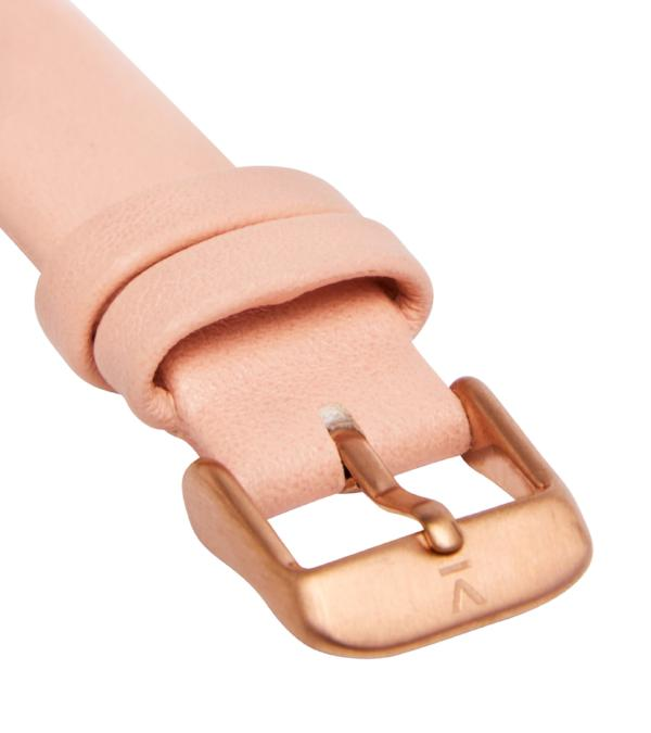 Votch Vegan Leather Watch - Pink and Rose Gold Buckle