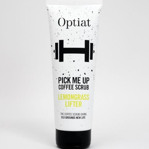 Pick Me Up - Lemongrass Coffee Body Scrub vegan sustainable