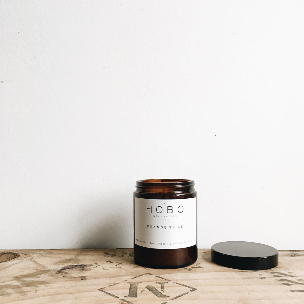 Orange Spice Medium Soy Candle Vegan