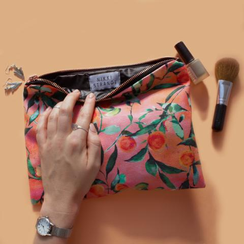 Orange Tree Travel Bag