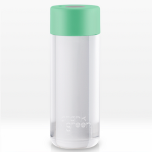 Smart bottle with jade green lid